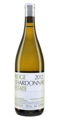 Ridge Estate Santa Cruz Mountains Chardonnay